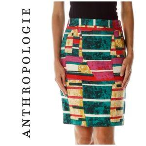 Anthropologie's Dolce Vita Sorbet Abstract Skirt